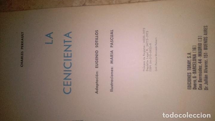 Libros antiguos: La cenicienta, cuentos clásicos toray, Charles perrault - Foto 5 - 111283319
