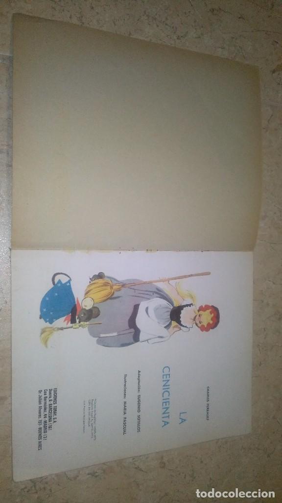 Libros antiguos: La cenicienta, cuentos clásicos toray, Charles perrault - Foto 6 - 111283319