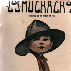Libros antiguos: LOS MUCHACHOS. SEMANARIO CON REGALOS. NÚM. 101. DOMINGO 16 DE ABRIL DE 1916.. Lote 111313155