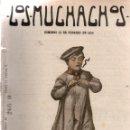Libros antiguos: LOS MUCHACHOS. SEMANARIO CON REGALOS. NÚM. 92. DOMINGO 13 DE FEBRERO DE 1916.. Lote 111316959