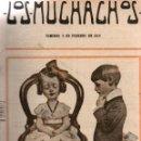 Libros antiguos: LOS MUCHACHOS. SEMANARIO CON REGALOS. NÚM. 91. DOMINGO 6 DE FEBRERO DE 1916.. Lote 111317083