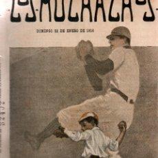 Libros antiguos: LOS MUCHACHOS. SEMANARIO CON REGALOS. NÚM. 89. DOMINGO 23 DE ENERO DE 1916.. Lote 111318879
