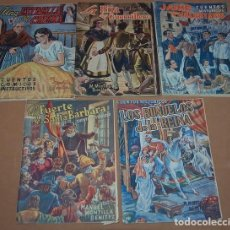 Libros antiguos: LOTE DE CINCO CUENTOS HISTORICOS AÑOS 40 DE MANUEL MONTILLA BENITEZ. Lote 111536315