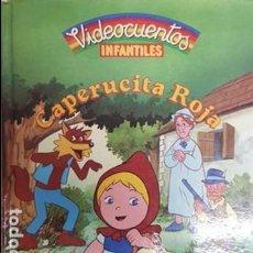 Libros antiguos: VIDECUENTOS INFANTILES - CAPERUCITA ROJA - SOLO EL CUENTO -. Lote 111687211