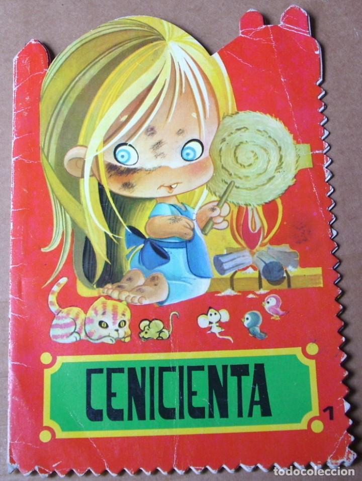 CENICIENTA Nº 1, TROQUELADO -ROMA - ORIGINAL 1978- (Libros Antiguos, Raros y Curiosos - Literatura Infantil y Juvenil - Cuentos)