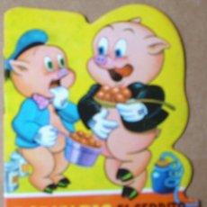 Libros antiguos: PORKY PIG CERDITO GLOTON ,TROQUELADOS BUG BUNNY Nº 4- BRUGUERA 1964-PERFECTO 10X14 APRX LEER. Lote 111731639