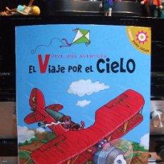 Libros antiguos: LIBRO DIORAMA 3D EL VIAJE POR EL CIELO VIVE UNA AVENTURA LIBROS PARA JUGAR. Lote 181338932