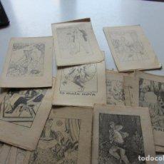 Libros antiguos: LOT 20 ANTICS CONTES 15 X 10,5 CM. COL.LECCIÓ EN PATUFET. ILUSTRACIONS OPISSO DEMANA FALTES C93S. Lote 112033439