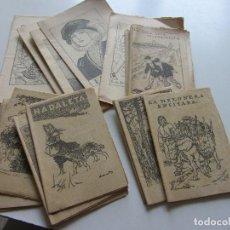 Libros antiguos: LOT 19 ANTICS CONTES . COL.LECCIÓ EN PATUFET. ILUSTRACIONS OPISSO DEMANA FALTES C93S. Lote 112033899