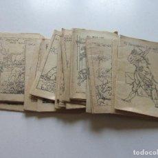 Libros antiguos: LOT 20 ANTICS CONTES COL.LECCIÓ EN PATUFET. ILUSTRACIONS OPISSO DEMANA FALTES 12X 8.5 CM C93S. Lote 112034043