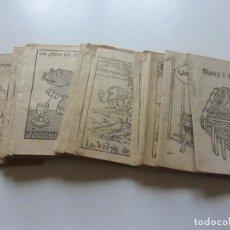 Libros antiguos: LOT 20 ANTICS CONTES COL.LECCIÓ EN PATUFET. ILUSTRACIONS OPISSO DEMANA FALTES 12X 8.5 CM C93S. Lote 112034099