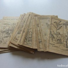 Libros antiguos: LOT 20 ANTICS CONTES COL.LECCIÓ EN PATUFET. ILUSTRACIONS OPISSO DEMANA FALTES 12X 8.5 CM C93S. Lote 112034163