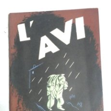 Libros antiguos: L'AVI ANY 35 ILUSTRACIONES MORA, 29 PAG. Lote 112290499