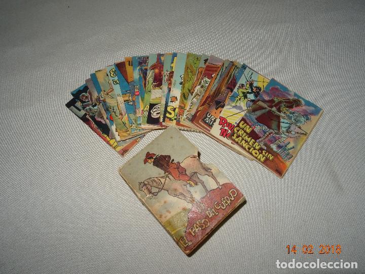 Libros antiguos: Antigua Colección ROBINSON - Completa 24 Tomitos en Estuche Original - Dibujos de LOZANO OLIVARES - Foto 3 - 112455987