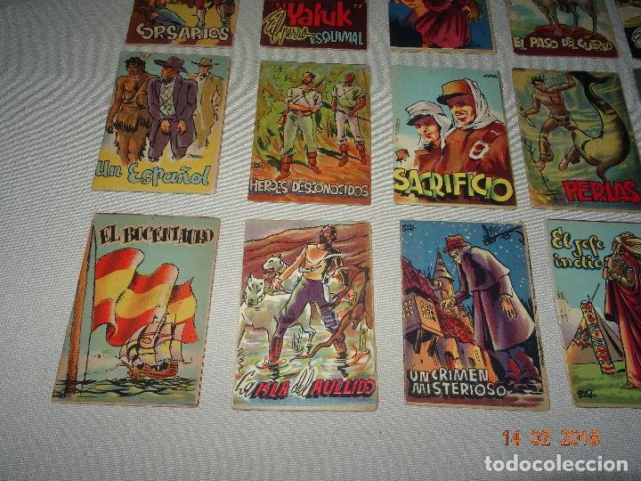 Libros antiguos: Antigua Colección ROBINSON - Completa 24 Tomitos en Estuche Original - Dibujos de LOZANO OLIVARES - Foto 8 - 112455987