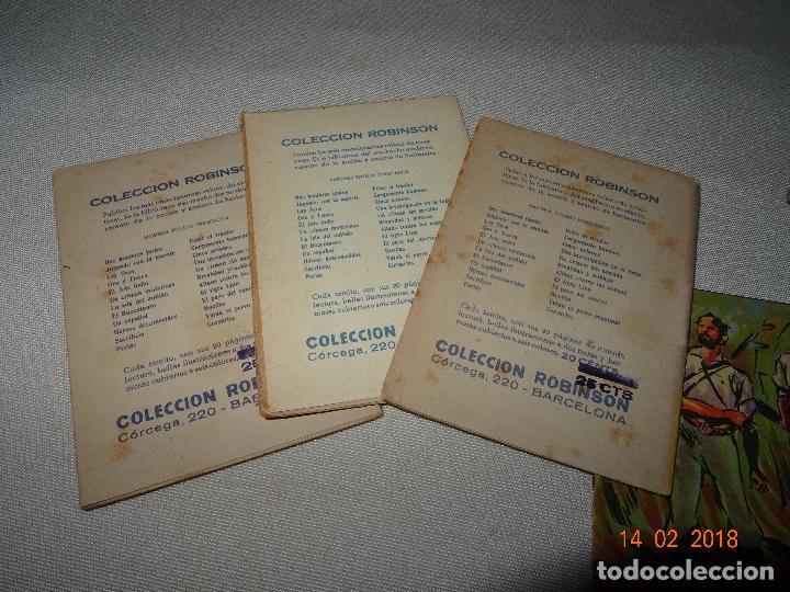 Libros antiguos: Antigua Colección ROBINSON - Completa 24 Tomitos en Estuche Original - Dibujos de LOZANO OLIVARES - Foto 10 - 112455987