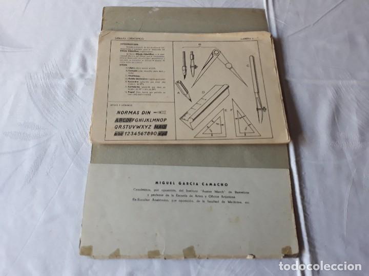 Libros antiguos: Cuadernillos de dibujo - Foto 8 - 112858395