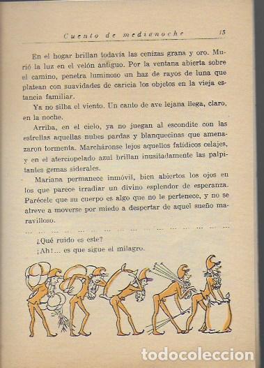 Libros antiguos: Nick. Cuento de medianoche / Carmen Karr ; il. Lola Anglada. BCN, 1935. 18x13cm. 27 p. - Foto 3 - 113098235