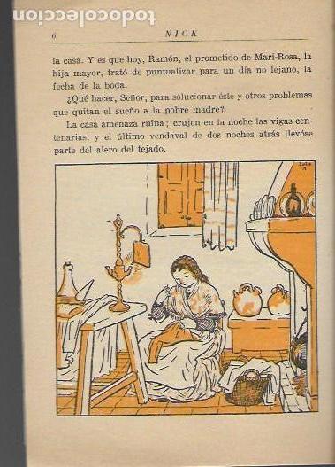 Libros antiguos: Nick. Cuento de medianoche / Carmen Karr ; il. Lola Anglada. BCN, 1935. 18x13cm. 27 p. - Foto 4 - 113098235