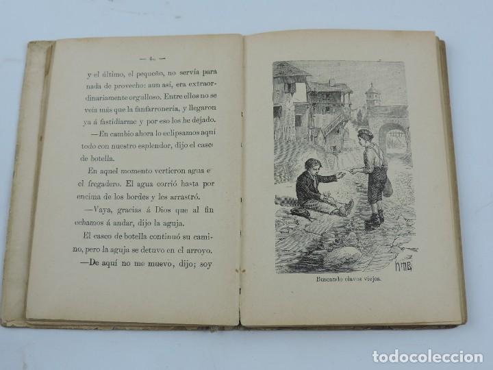 Libros antiguos: CUENTOS CALLEJA .NEGRITO Y PASTORA. AGUJA ORGULLOSA. BELLEZA Y MODESTIA. FLOR DEL LINO. MENTIRA ES - Foto 3 - 113476003