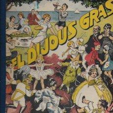 Libros antiguos: BONS COSTUMS CATALANS.EL DIJOUS GRAS / M.B; IL. A. UTRILLO. BCN, 1934. 25X22CM. 40 P.. Lote 113553187