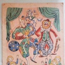 Libri antichi: HISTORIA DE UN PAYASO. COLECCIONES MUNTAÑOLA.. Lote 114277139