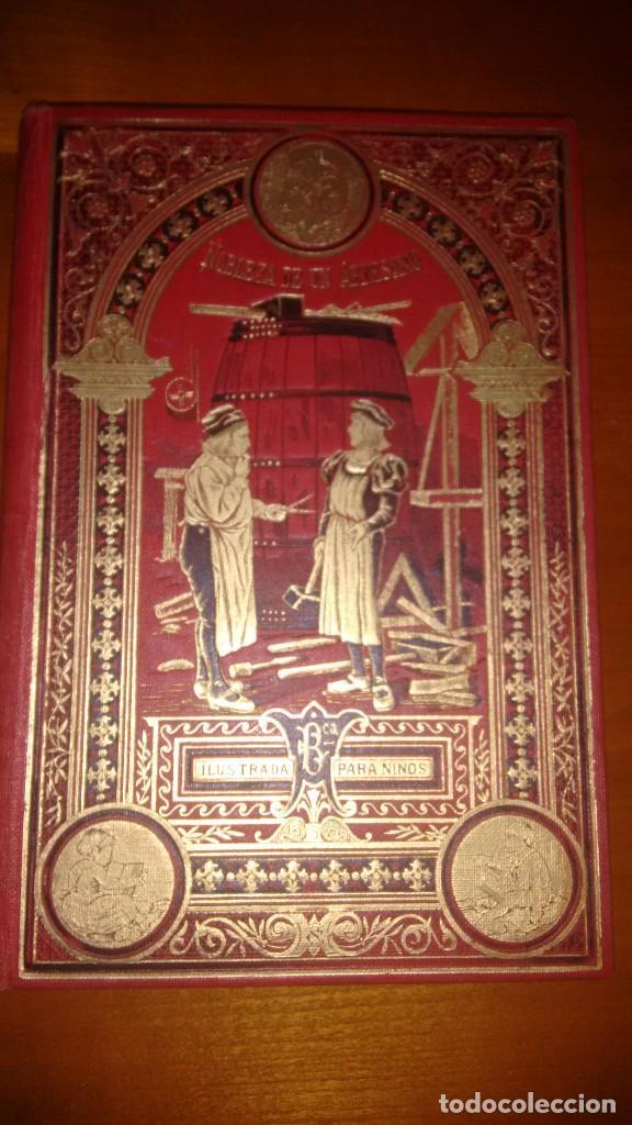 NOBLEZA DE UN ARTESANO. CALLEJA. HACIA 1920. CUENTOS DE CALLEJA BIBLIOTECA ILUSTRADA (Libros Antiguos, Raros y Curiosos - Literatura Infantil y Juvenil - Cuentos)