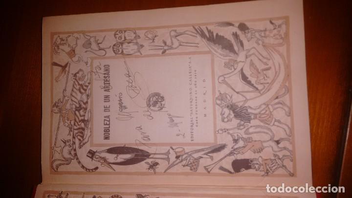Libros antiguos: Nobleza de un artesano. Calleja. Hacia 1920. Cuentos de calleja biblioteca ilustrada - Foto 4 - 114290907