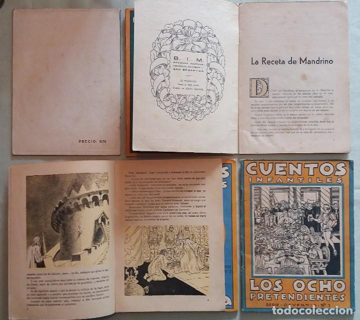 Libros antiguos: 6 Cuentos infantiles Serie Osvernia Nº 1, 3, 4, 5, 6, 7. Ediciones Serra Masana. - Foto 2 - 114377635