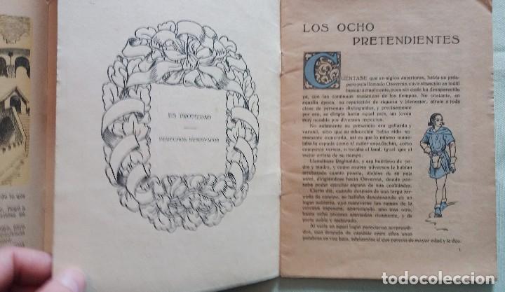 Libros antiguos: 6 Cuentos infantiles Serie Osvernia Nº 1, 3, 4, 5, 6, 7. Ediciones Serra Masana. - Foto 3 - 114377635