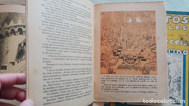 Libros antiguos: 6 Cuentos infantiles Serie Osvernia Nº 1, 3, 4, 5, 6, 7. Ediciones Serra Masana. - Foto 6 - 114377635