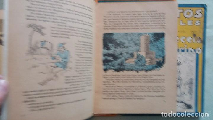 Libros antiguos: 6 Cuentos infantiles Serie Osvernia Nº 1, 3, 4, 5, 6, 7. Ediciones Serra Masana. - Foto 7 - 114377635