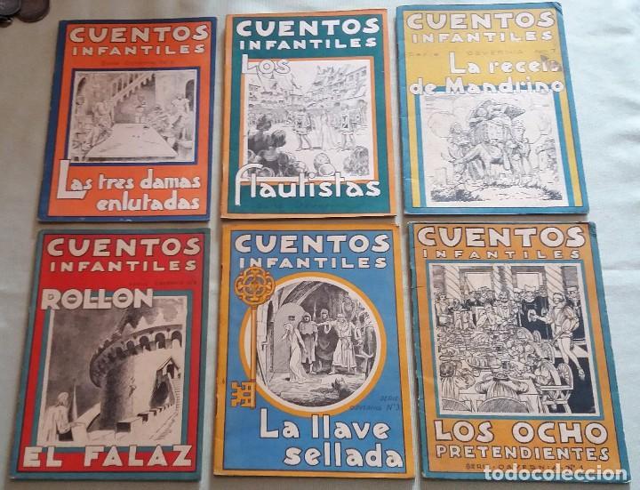 Libros antiguos: 6 Cuentos infantiles Serie Osvernia Nº 1, 3, 4, 5, 6, 7. Ediciones Serra Masana. - Foto 8 - 114377635