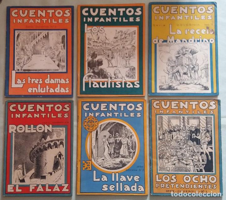 Libros antiguos: 6 Cuentos infantiles Serie Osvernia Nº 1, 3, 4, 5, 6, 7. Ediciones Serra Masana. - Foto 12 - 114377635