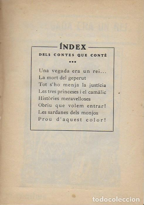 Libros antiguos: Contes morals de Les Mil i una Nits / explicats en català per S. Bonavia. BCN, 1924. 19x13cm. 127 p - Foto 3 - 114443539