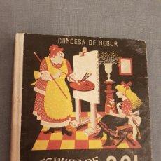 Libros antiguos: LIBRO,LECTURAS INFANTILES 1950 CONDESA DE SEGUR,DESPUES DE LA LLUVIA EL SOL,AGUILAR,BUEN ESTADO,VER. Lote 114749983