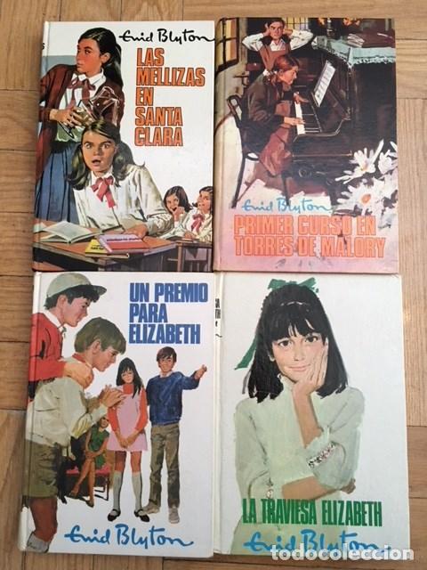 4 LIBROS DE BLYTON. ELISABETH. AÑOS 1970 (Libros Antiguos, Raros y Curiosos - Literatura Infantil y Juvenil - Cuentos)