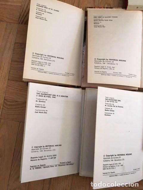 Libros antiguos: 4 LIBROS DE BLYTON. ELISABETH. AÑOS 1970 - Foto 2 - 115554227
