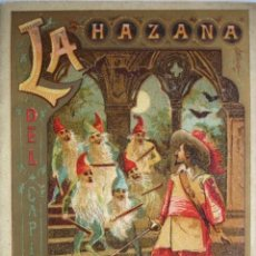 Libros antiguos: LA HAZAÑA .LEYENDAS MORALES 13X9 CALLEJA. Lote 115674867