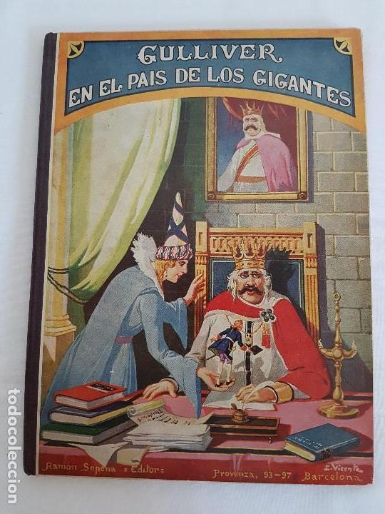 GULLIVER EN EL PAIS DE LOS GIGANTES - POR J. SWIFT ( AÑO 1935 ) (Libros Antiguos, Raros y Curiosos - Literatura Infantil y Juvenil - Cuentos)