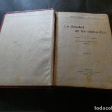 Libros antiguos: LIBRO JOSEP MARIA FOLCH I TORRES ROSABEL DE LES TRENES DÓR BIBLIOTECA PATUFET 1925-TAPAS LISAS ROJAS. Lote 116480263