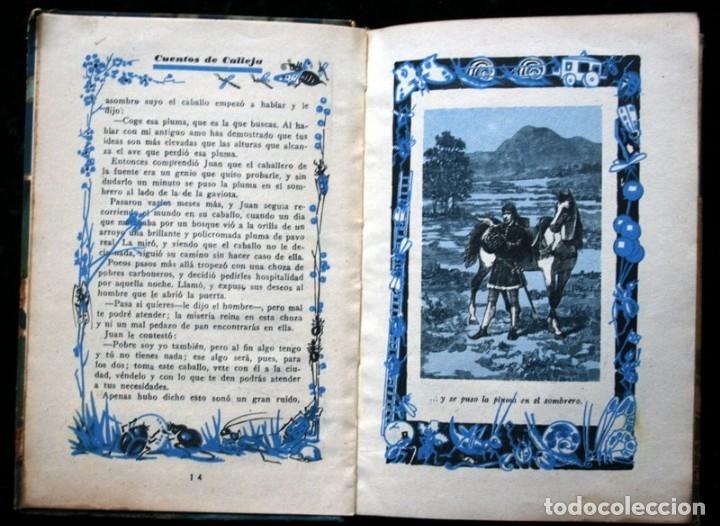 Libros antiguos: LAS TRES PLUMAS - CALLEJA - Biblioteca Ilustrada - Tapa Dura - Foto 6 - 57143166