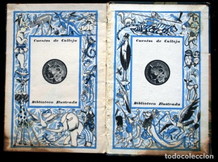 Libros antiguos: LAS TRES PLUMAS - CALLEJA - Biblioteca Ilustrada - Tapa Dura - Foto 7 - 57143166