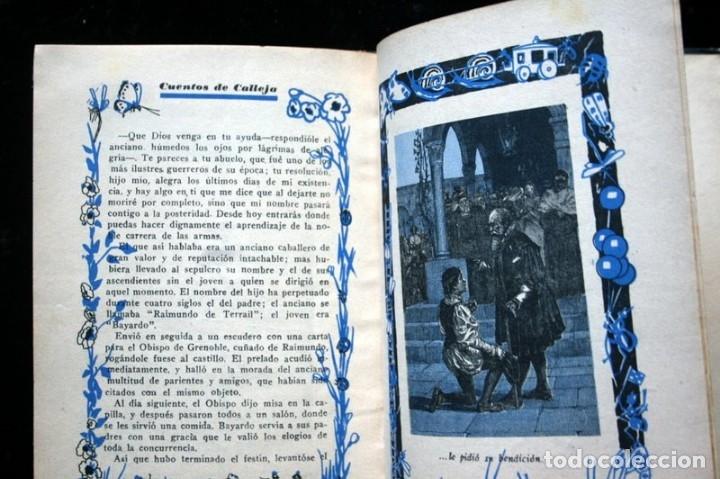 Libros antiguos: LAS TRES PLUMAS - CALLEJA - Biblioteca Ilustrada - Tapa Dura - Foto 9 - 57143166