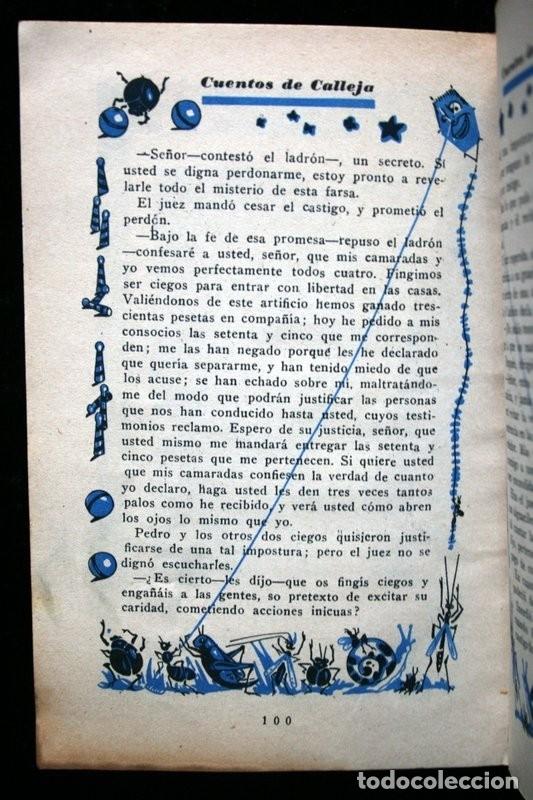 Libros antiguos: LAS TRES PLUMAS - CALLEJA - Biblioteca Ilustrada - Tapa Dura - Foto 10 - 57143166