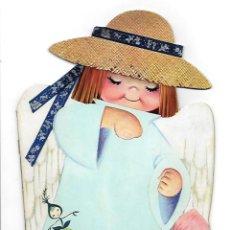 Libros antiguos: CUENTO TROQUELADO EL ANGEL DE LA LLUVIA, 1A EDICIÓN 1963. JOAN FERRANDIZ. EDIGRAF. Lote 117042559