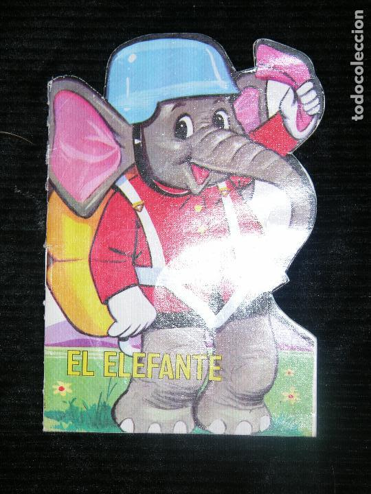 F1 EL ELEFANTE CUENTO TROQUELADO (Libros Antiguos, Raros y Curiosos - Literatura Infantil y Juvenil - Cuentos)