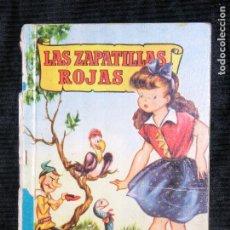 Libros antiguos: F1 LAS ZAPATILLAS ROJAS COLECCION PARA LA INFANCIA TAPA DURA. Lote 117515735