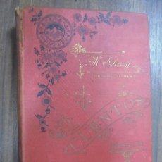 Libros antiguos: CUENTOS MORALES. MARTIN SCHEROFF Y AVI. ED. ILUSTRADA. 3ª SERIE. TOMO 1º.CON DEDICATORIA FIRMA AUTOR. Lote 117616319