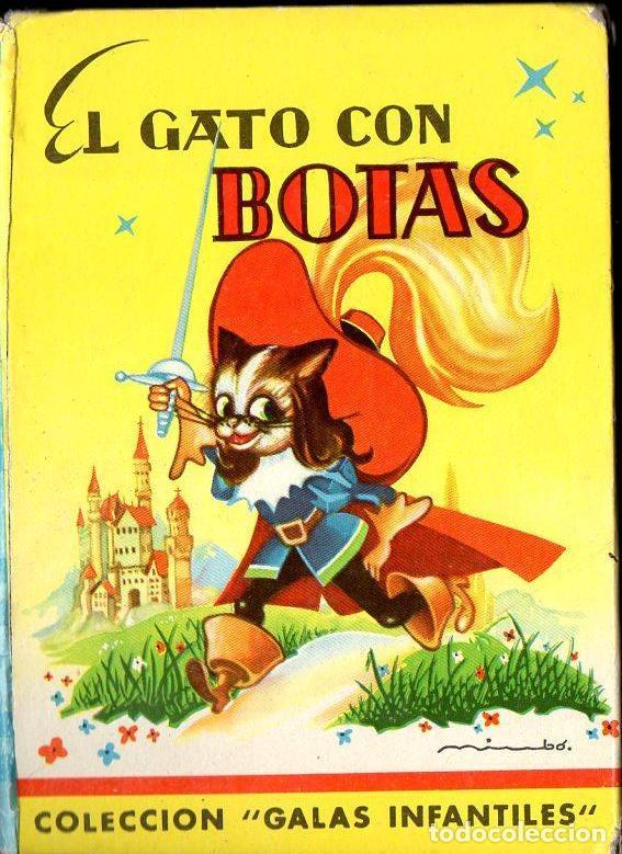 EL GATO CON BOTAS (GALAS INFANTILES MATEU, S.F.) (Libros Antiguos, Raros y Curiosos - Literatura Infantil y Juvenil - Cuentos)